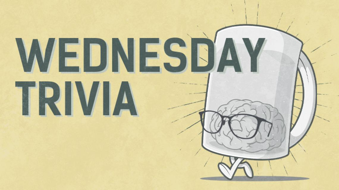 Wednesday trivia tile